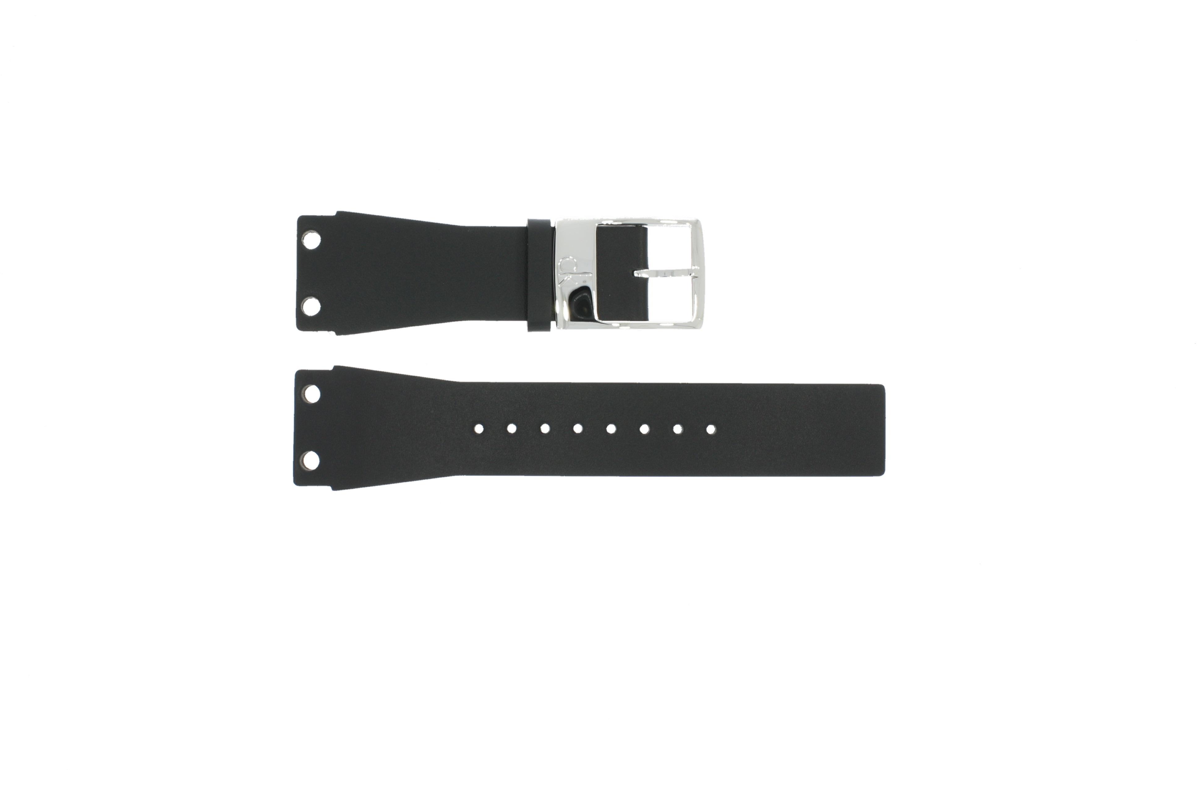 Cuirplastique Noir K600060218 K7547100 Montre Bracelet 25mm De 34Aq5LRScj