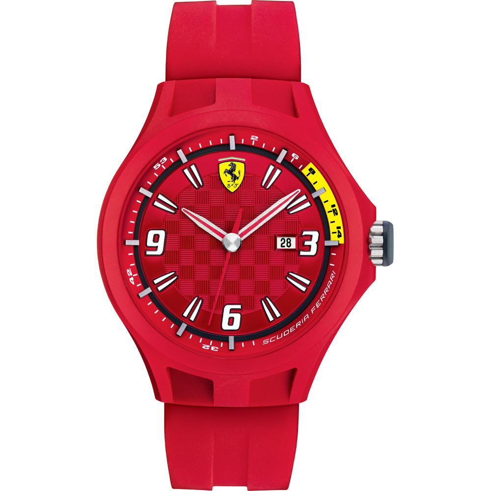 Montre De 0830007 22mm Bracelet Caoutchouc Rouge Sf689300005 Ferrari 67gYvybf