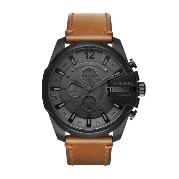 bracelet cuir cognac montre