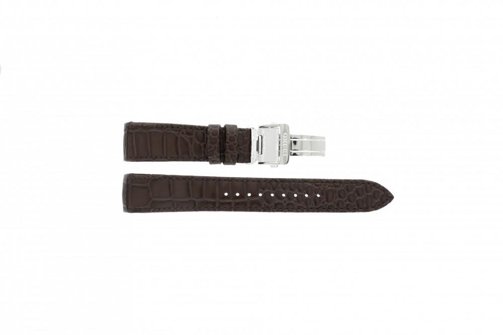 chaussures de sport 1a951 143af Bracelet de montre Seiko 7T04-0AA0 XL Cuir Brun 21mm
