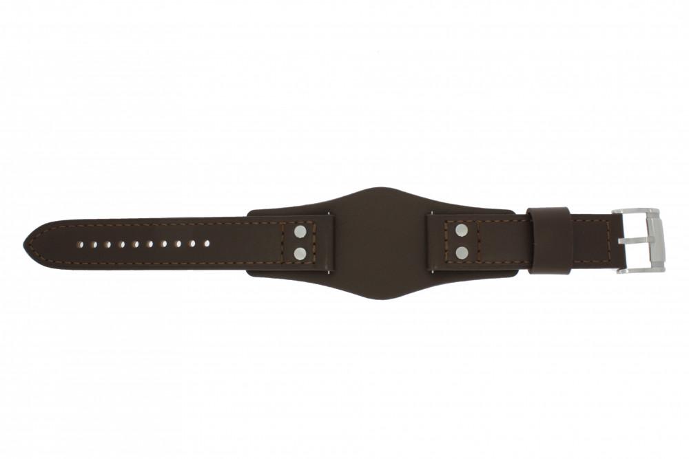 Fossil bracelet de montre CH,2890 / CH,2891 Cuir Brun 22mm