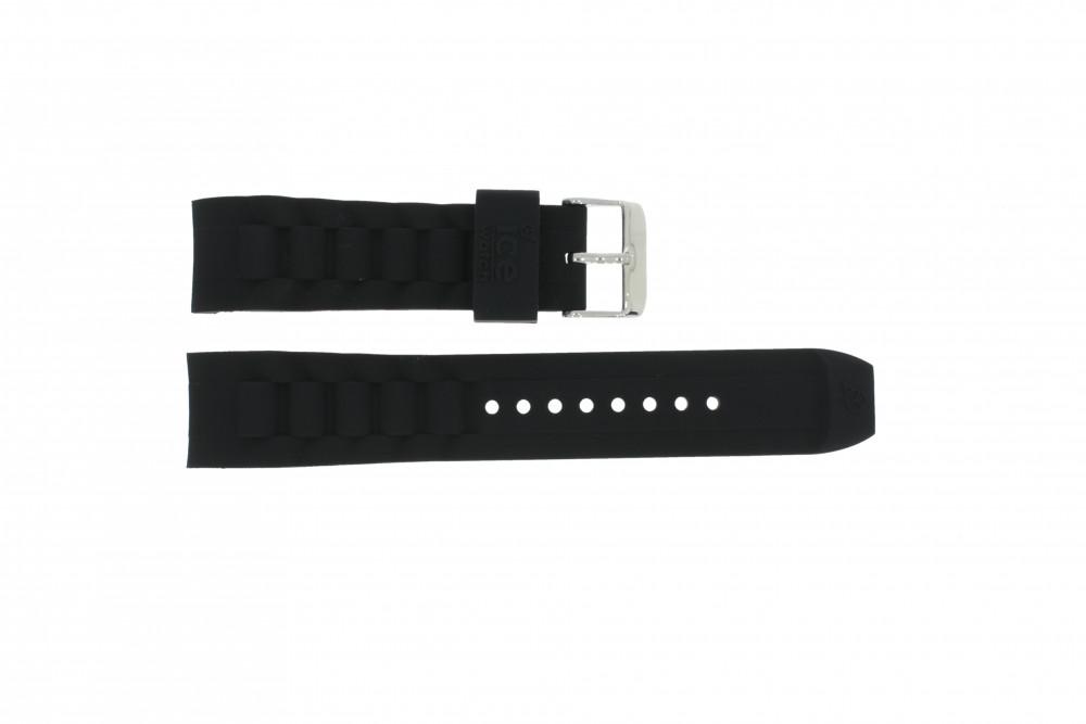 22mm Ice Watch De Caoutchouc Bracelet Montre Ibchbbe8s11 Noir 3RA4jL5q