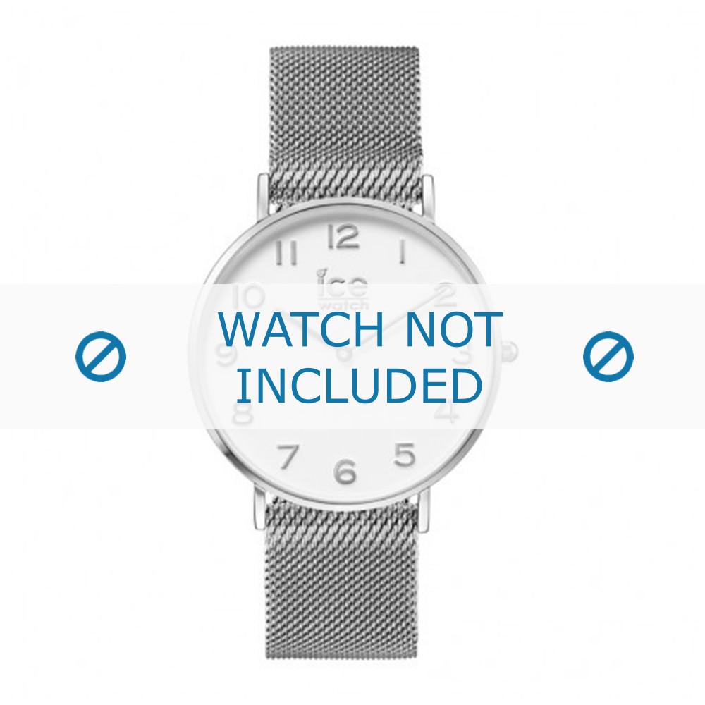012702 Watch Montre 012701 De Bracelet Métal Argent 20mm Ice qMUVpSGz