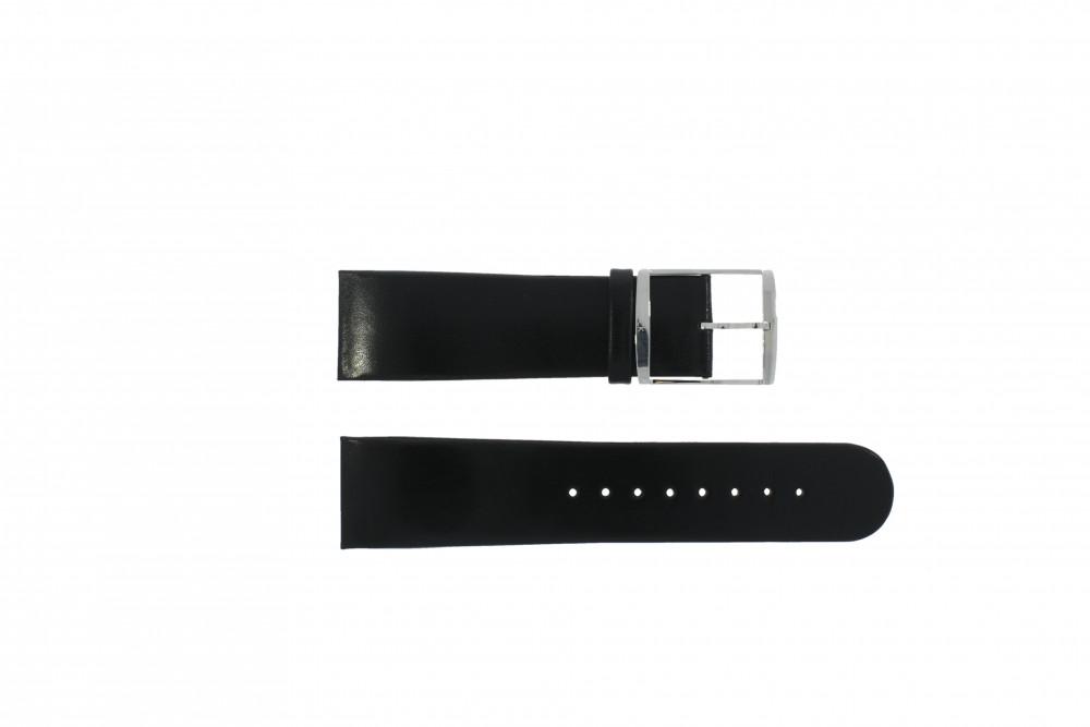Bracelet De Montre Calvin Klein K30471 K600070109 K30271 K600031664 Cuir Noir 24mm