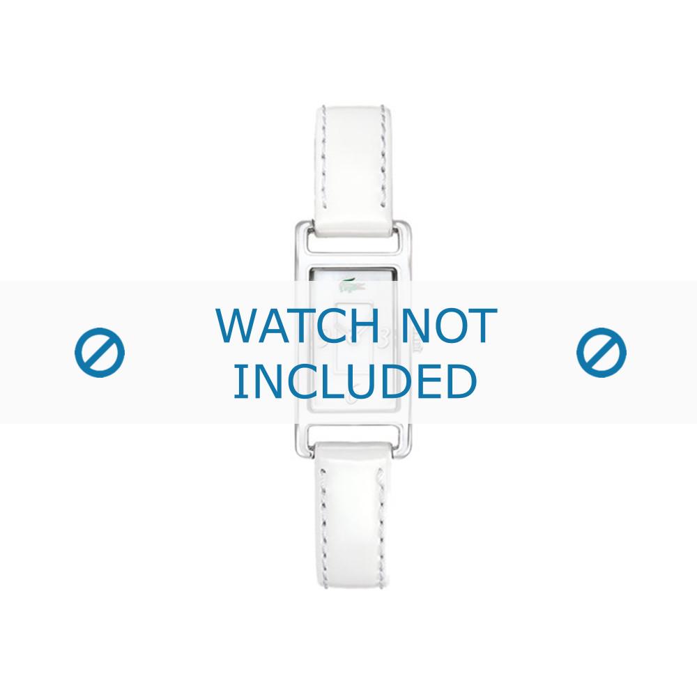 Bracelet 3 Montre 12mmCoutures 05 19 Lacoste Blanches 2000367 Cuir De Blanc Lc 0066 PwXlZOuikT