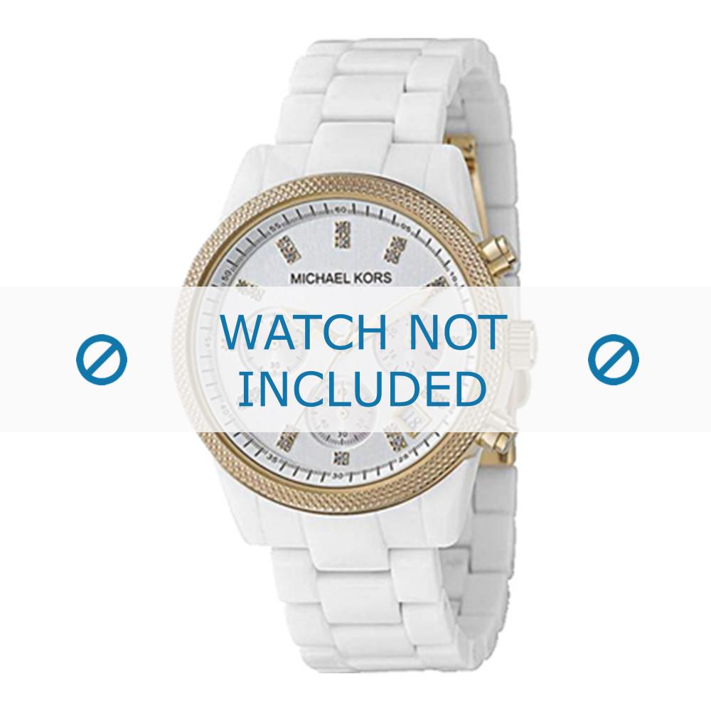 De Céramique Blanc Montre 20mm Bracelet Mk5189 Michael Kors hrCtsQxd