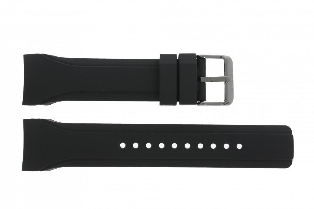 official supplier factory price for whole family Bracelet de montre Pulsar VD53-X054 / PT3193X1 / PT3197X1 / PT3199X1  Caoutchouc Noir 24mm