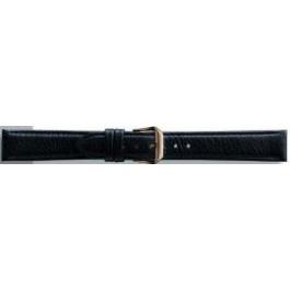 Bracelet de montre Condor 054.01 Cuir Noir 12mm