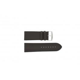 Bracelet de montre Universel 306.02 Cuir Brun 28mm