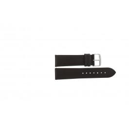 Bracelet de montre Condor 283.02 Cuir Brun 22mm