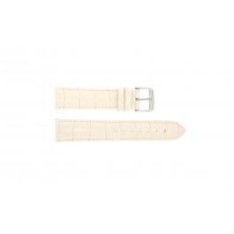 Bracelet de montre Universel 285R.15 Cuir croco Rose 20mm