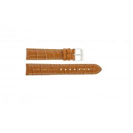 Bracelet de montre Universel 285R.27 Cuir croco Brun 22mm