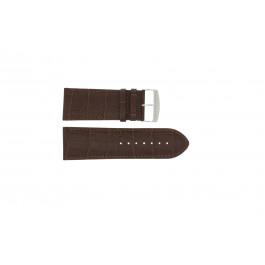 Bracelet de montre Universel 305.02 Cuir Brun 28mm
