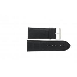 Bracelet de montre Universel 305R.01 Cuir Noir 28mm