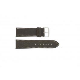 Bracelet de montre Universel 307R.02 Cuir Brun 20mm