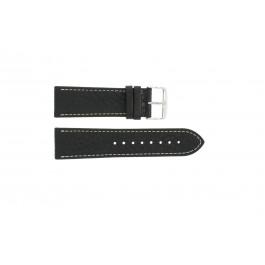 Bracelet de montre Universel 307.01 XL Cuir Noir 18mm