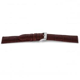 Bracelet de montre Universel D340 Cuir Brun 14mm