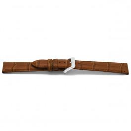 Bracelet de montre Universel D349 Cuir Brun 14mm