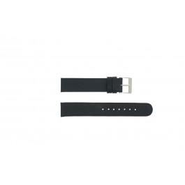 Bracelet de montre Universel 800R.01 Cuir Noir 18mm