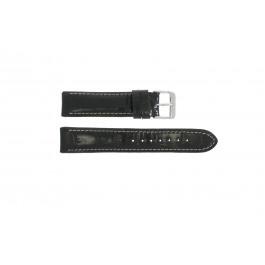Bracelet de montre Universel 61324 Cuir Noir 18mm