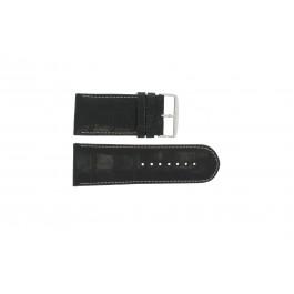 Bracelet de montre Universel 61324.24Z Cuir Noir 24mm