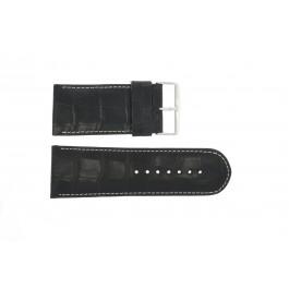 Bracelet de montre Universel 61324.10.34 Cuir Noir 34mm