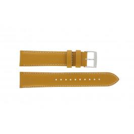 Bracelet de montre Seiko 7T94-0AV0 / SNN169P1 Cuir Brun 20mm