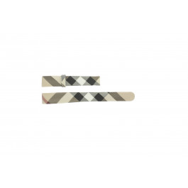 Bracelet de montre Burberry BU1062 / BU1066 / BU1060 / BU1068 Cuir Multicolore 14mm