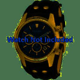 Bracelet de montre Fossil CH2615 Cuir Noir 22mm