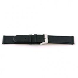 Bracelet de montre Universel F100 Cuir Noir 18mm
