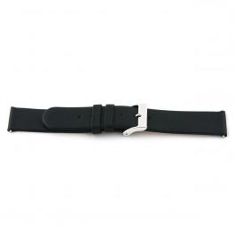 Bracelet de montre Universel 800R.01 Cuir Noir 16mm