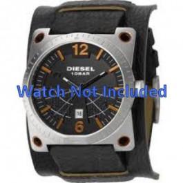 Bracelet de montre Diesel DZ1212 Cuir Noir 28mm