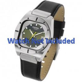 Bracelet de montre Diesel DZ4112 / DZ4113 Cuir Noir 20mm