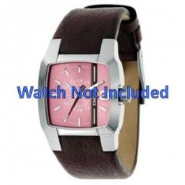 Bracelet de montre Diesel DZ5100 Cuir Brun 18mm