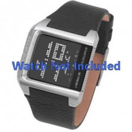 Bracelet de montre Diesel DZ7094 Cuir Noir 24mm