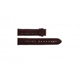 Bracelet de montre Festina F16021 / 4 Cuir Bordeaux 18mm