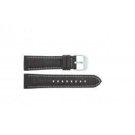 Bracelet de montre Festina F16486/2 / F16486/5 / F16486/7 Cuir Brun 23mm