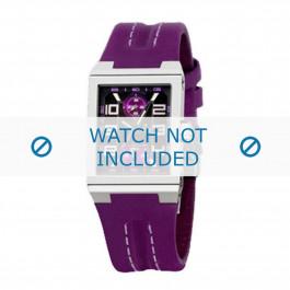 Festina bracelet de montre F16224-6 Cuir Rose 14mm + coutures défaut