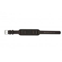 Bracelet de montre Fossil JR1158 Cuir Brun 14mm