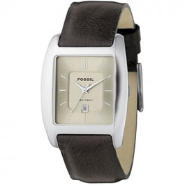 Bracelet de montre Fossil FS3041 Cuir Brun 22mm