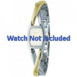 Bracelet de montre DKNY NY4634 Case / Strap Acier Bicolore 13mm
