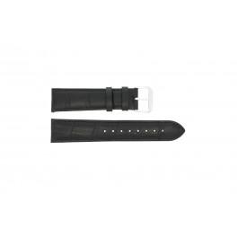 Bracelet de montre Universel 61248.10.20.C Cuir Noir 20mm