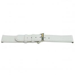 Bracelet de montre Universel H500 Cuir Blanc 22mm