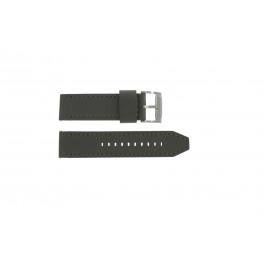 Bracelet de montre Fossil JR1419 Cuir Gris 24mm