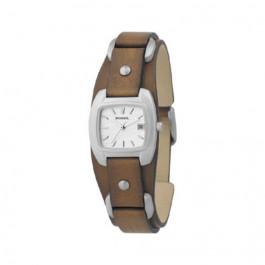 Bracelet de montre Fossil JR8897 Cuir Brun 12mm