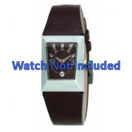 Bracelet de montre Fossil JR9407 Cuir Brun 20mm