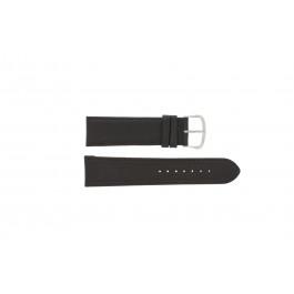 Bracelet de montre Universel E.5316 Cuir Brun foncé 20mm