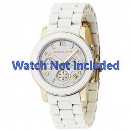 Bracelet de montre Michael Kors MK5145 Acier Blanc 20mm