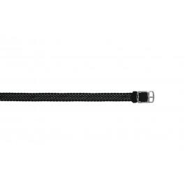 Bracelet de montre Universel PRLN.10.Z Nylon Noir 10mm
