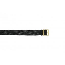 Bracelet de montre Universel PRLN.14 Nylon Noir 14mm